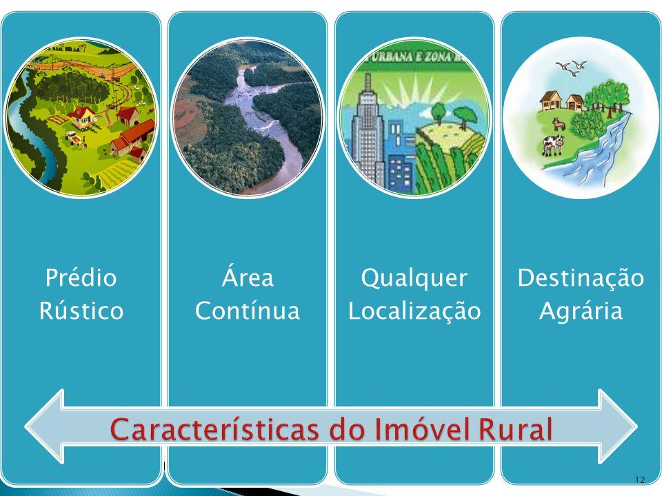 Prédio Rústico Área Contínua Qualquer Localização Destinação Agrária 12