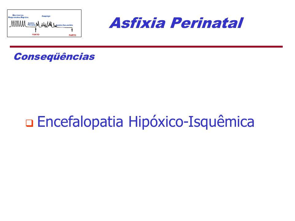 Asfixia Perinatal Conseqüências  Encefalopatia Hipóxico-Isquêmica