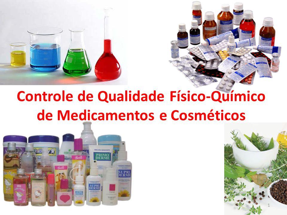 Controle de Qualidade Físico-Químico de Medicamentos e Cosméticos 1