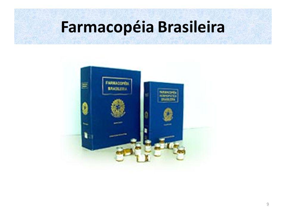 Farmacopéia Brasileira IV - 1988 Parte I - 1988 Conteúdo I.Prefácio II.Histórico III.Comissão Permanente da Revisão da FB e colaboradores IV.Generalidades V.Métodos de Análise 1.Procedimentos técnicos aplicados a medicamentos 2.Métodos físicos e físico-químicos 3.Métodos químicos 4.Métodos de farmacognosia 5.Métodos biológicos 10
