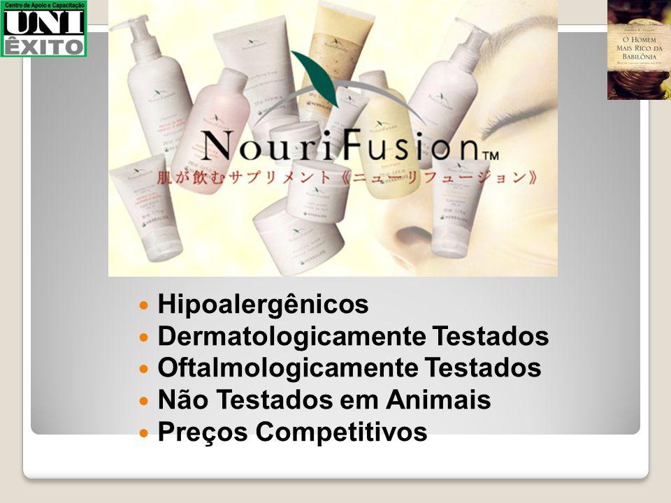 Hipoalergênicos Dermatologicamente Testados Oftalmologicamente Testados Não Testados em Animais Preços Competitivos