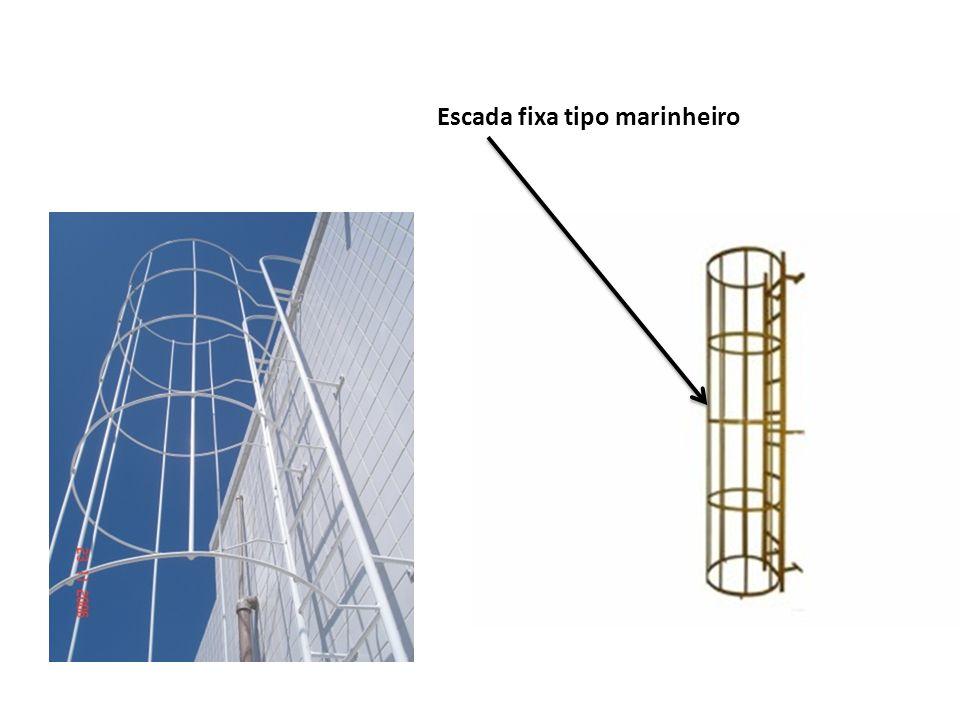 Escada fixa tipo marinheiro