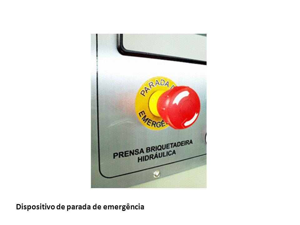 Dispositivo de parada de emergência