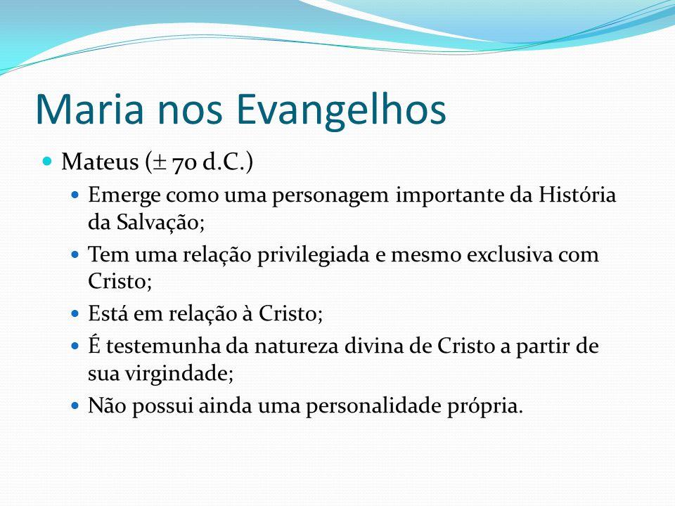 Maria em Lucas Sacia de bens os famintos (v.
