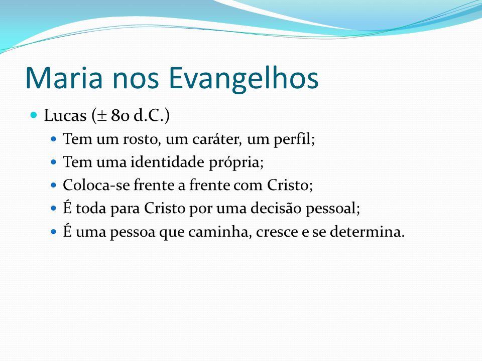 Maria em Lucas E o nome da virgem era Maria (v.