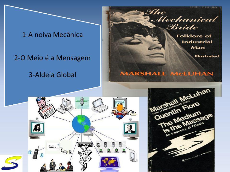 1-A noiva Mecânica 2-O Meio é a Mensagem 3-Aldeia Global