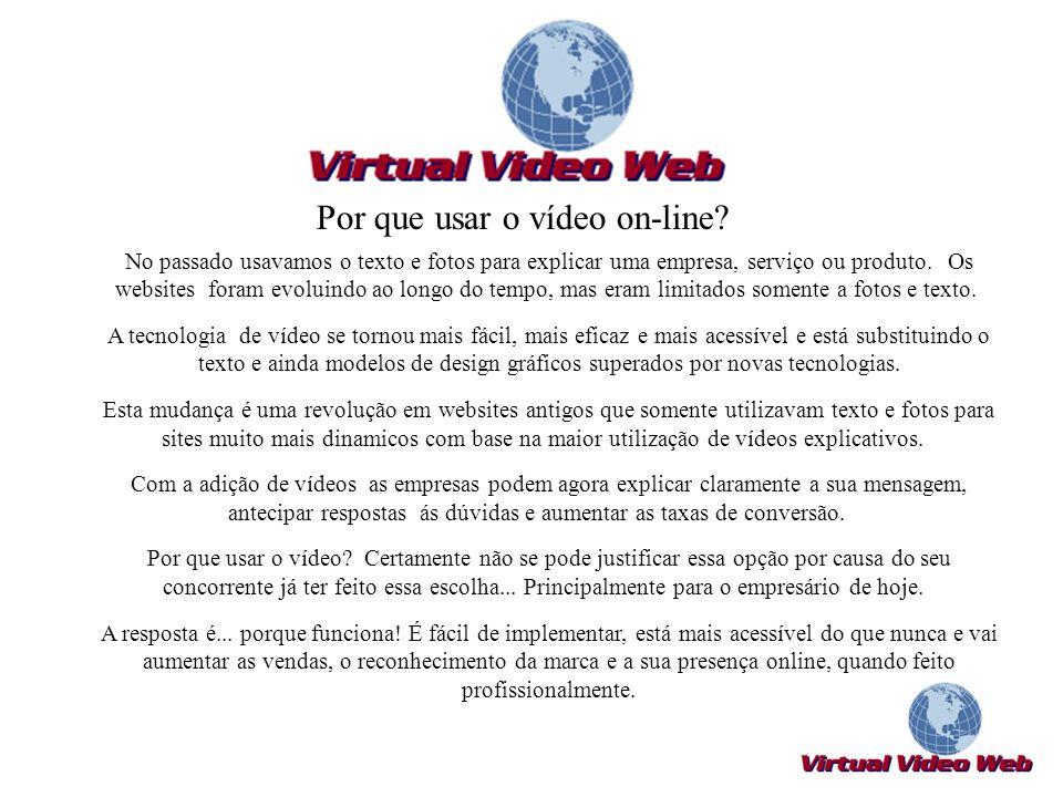 A Virtual vídeo Web é mais do que uma solução de vídeo.