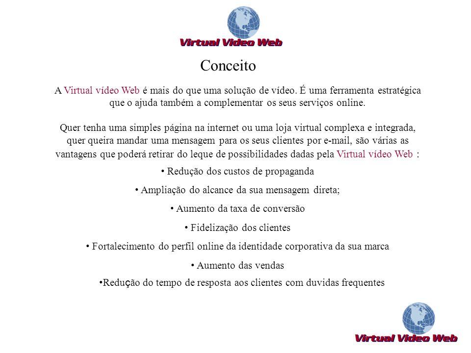 A Virtual vídeo Web é mais do que uma solução de vídeo. É uma ferramenta estratégica que o ajuda também a complementar os seus serviços online. Quer t