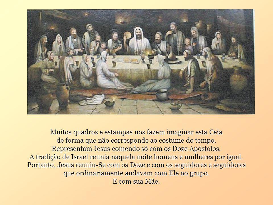 Quanto desejei ardentemente cear convosco Quinta-feira Santa. João 13, 1-15.