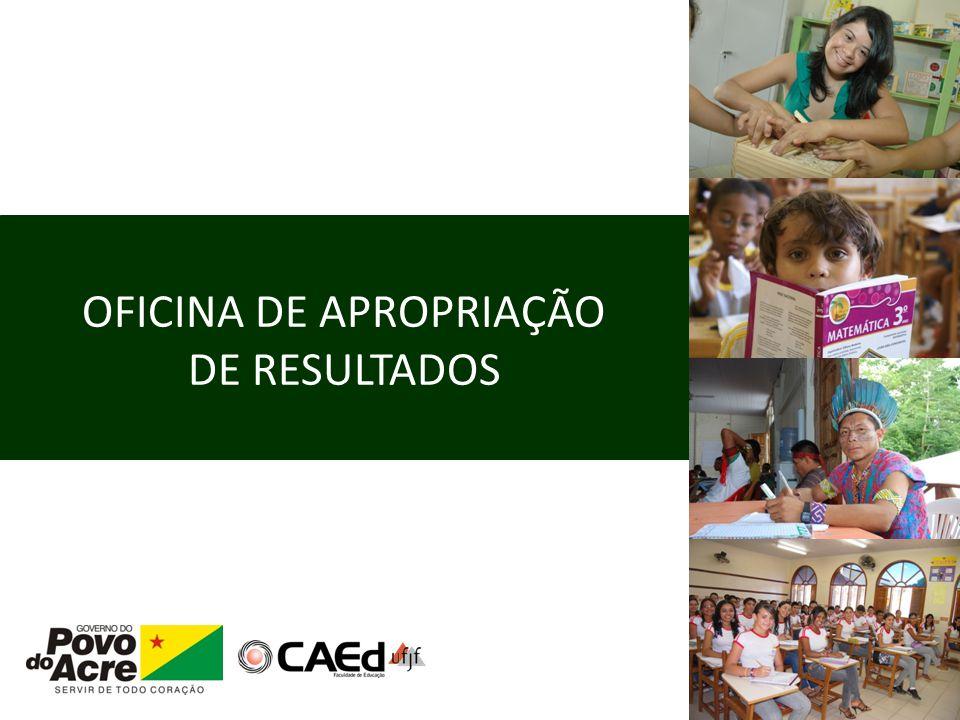 APROPRIAÇÃO DE RESULTADOS – SEAPE 2011 Das Matrizes aos itens dos testes de proficiência