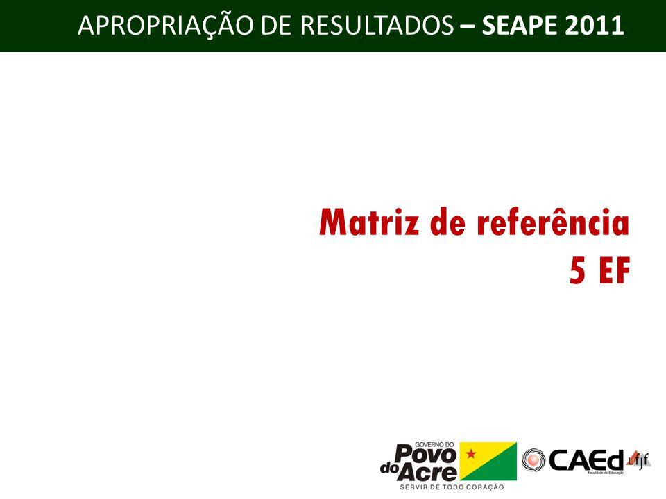 Matriz de referência 5 EF