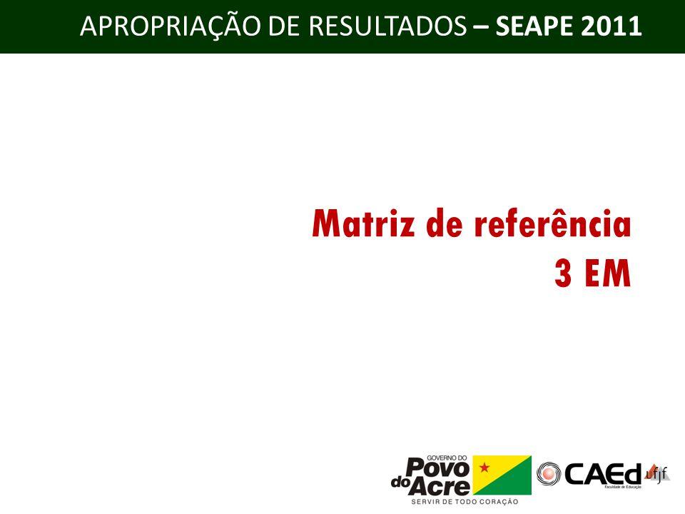 Matriz de referência 3 EM