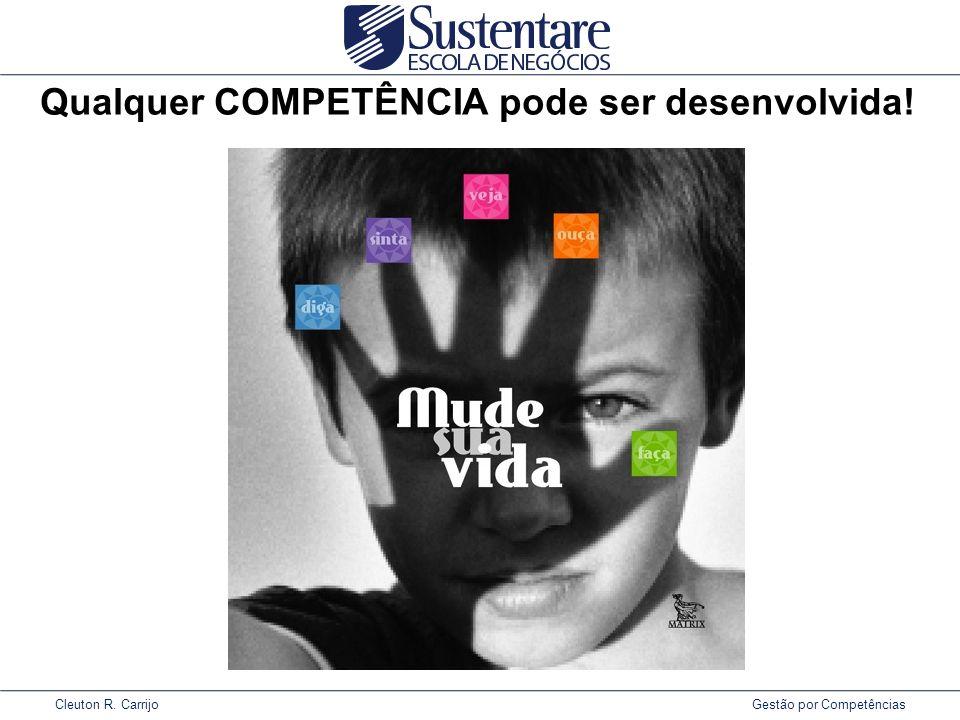 Cleuton R. Carrijo Gestão por Competências Qualquer COMPETÊNCIA pode ser desenvolvida!