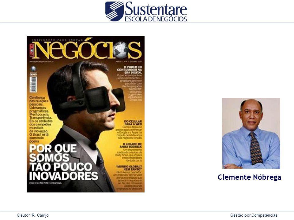 Cleuton R. Carrijo Gestão por Competências Clemente Nóbrega