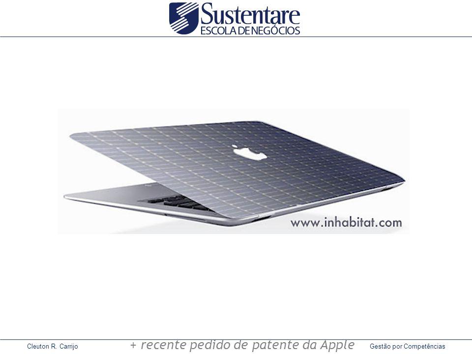 Cleuton R. Carrijo Gestão por Competências + recente pedido de patente da Apple