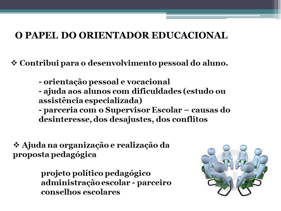  Contribui para o desenvolvimento pessoal do aluno.