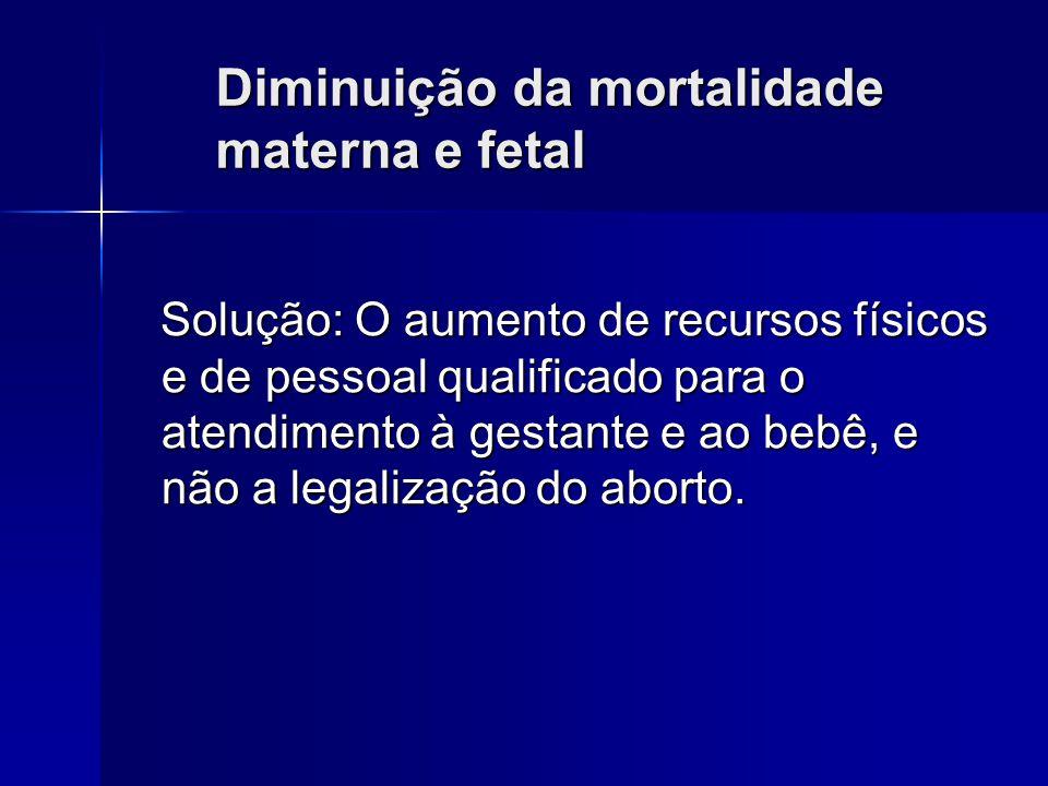 Brasil: Número de mortes maternas 1996 – 146 1997 – 163 1998 – 119 1999 – 147 2000 – 128 2001 – 148 2002 – 115 Fonte: http://www.datasus.gov.br Assim,