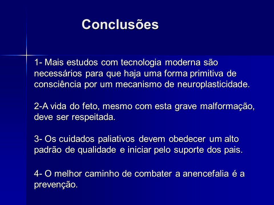 Grillo E e Silva RJM, Jornal de Pediatria, 79(2): 105-6, 2003. Prevenção Adição do ácido fólico às farinhas de trigo e de milho. Adição do ácido fólic