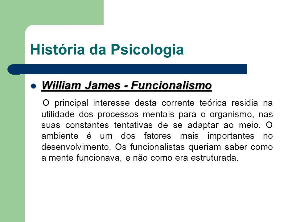 História da Psicologia John B.Watson - Behaviorismo John B.