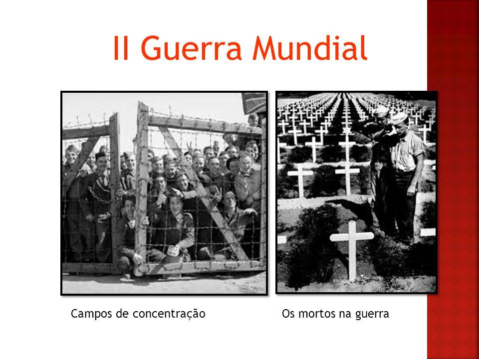 II Guerra Mundial Campos de concentraçãoOs mortos na guerra