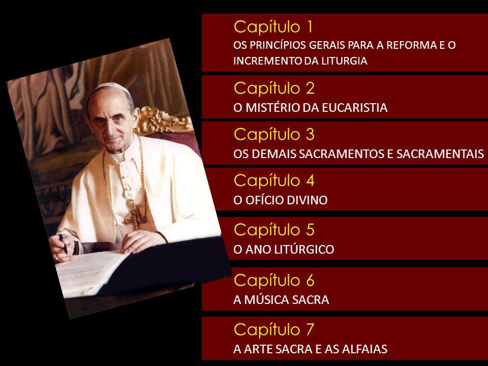 Sacrosanctum Concilium 12 Todavia, a vida espiritual não se limita unicamente à participação da sagrada Liturgia.
