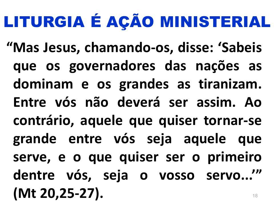 """""""Mas Jesus, chamando-os, disse: 'Sabeis que os governadores das nações as dominam e os grandes as tiranizam. Entre vós não deverá ser assim. Ao contrá"""