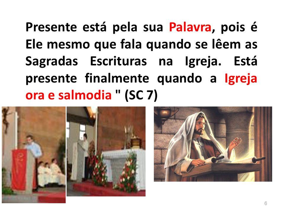 A assembléia litúrgica que se reúne para a liturgia é assembléia toda ministerial, organizada em aspecto hierárquico.