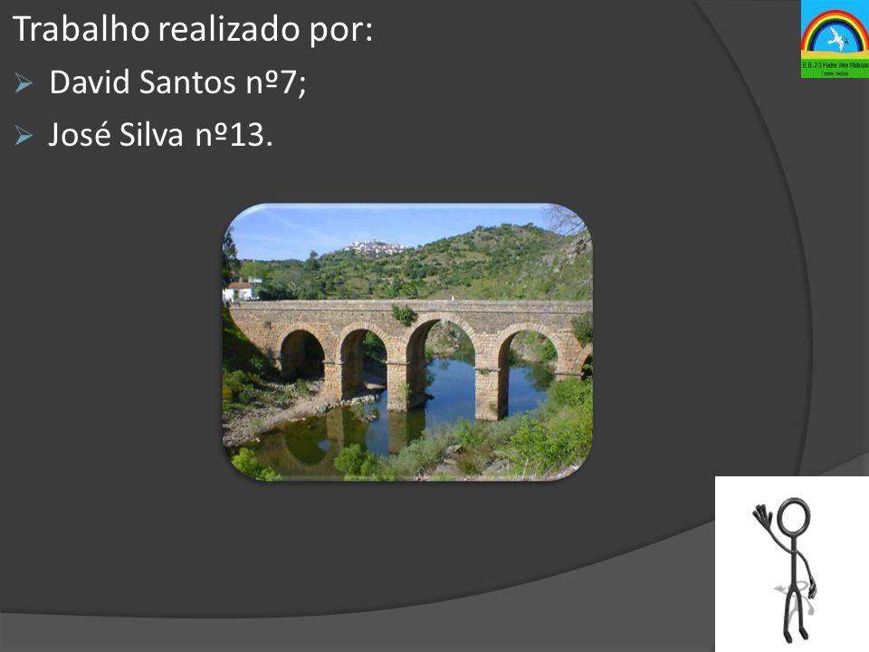 Trabalho realizado por:  David Santos nº7;  José Silva nº13.