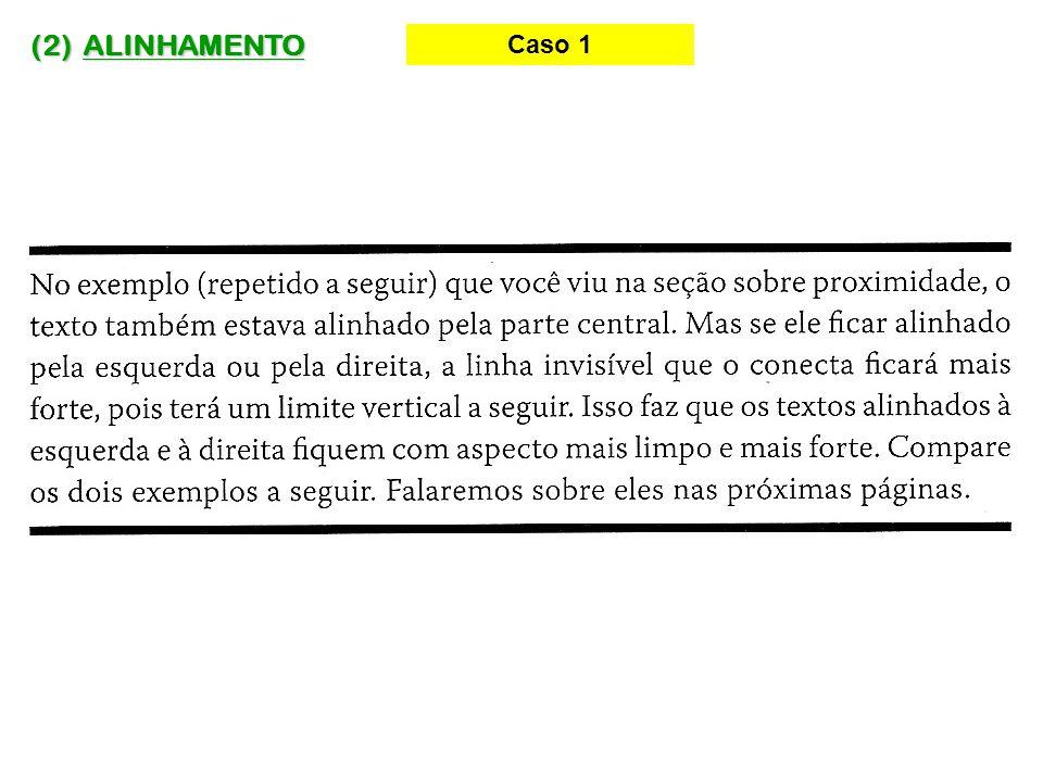 (2) ALINHAMENTO Caso 14