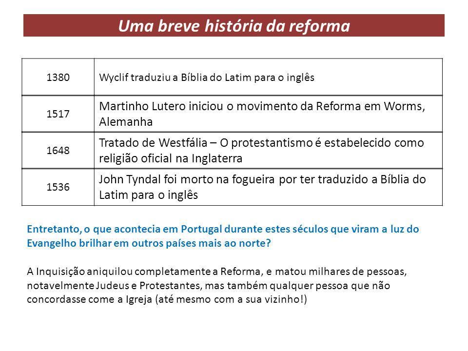 Diferenças entre o catolicismo e protestantismo 1.
