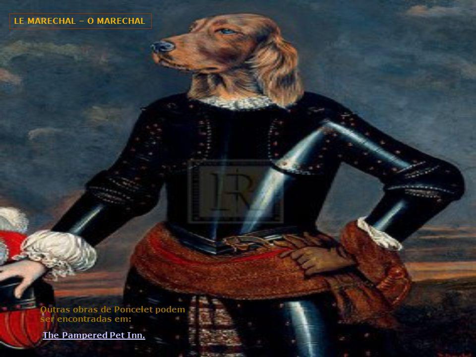 THE ARCHDUKE O ARQUIDUQUE Poncelet's site Tem uma exposição de seus retratos de cães e gatos juntamente com informações deste belga que agora está pintando em Monaco.