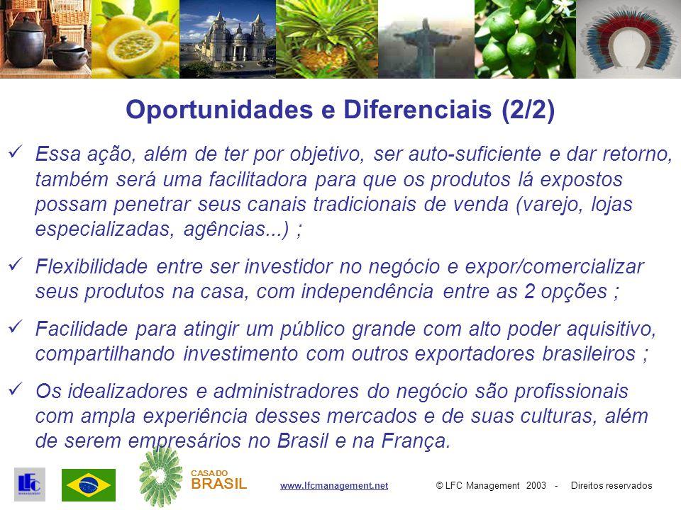 © LFC Management 2003 - Direitos reservadoswww.lfcmanagement.net CASA DO BRASIL Faça parte do sucesso do Brasil !