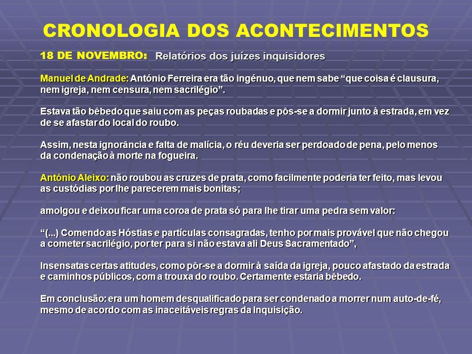 """Manuel de Andrade: António Ferreira era tão ingénuo, que nem sabe """"que coisa é clausura, nem igreja, nem censura, nem sacrilégio"""". Estava tão bêbedo q"""