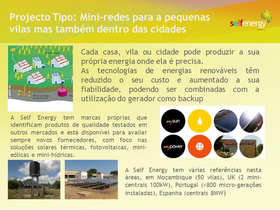 Cada casa, vila ou cidade pode produzir a sua própria energia onde ela é precisa. As tecnologias de energias renováveis têm reduzido o seu custo e aum