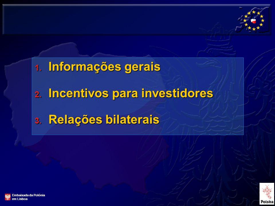 1.Informações gerais 2. Incentivos para investidores 3.