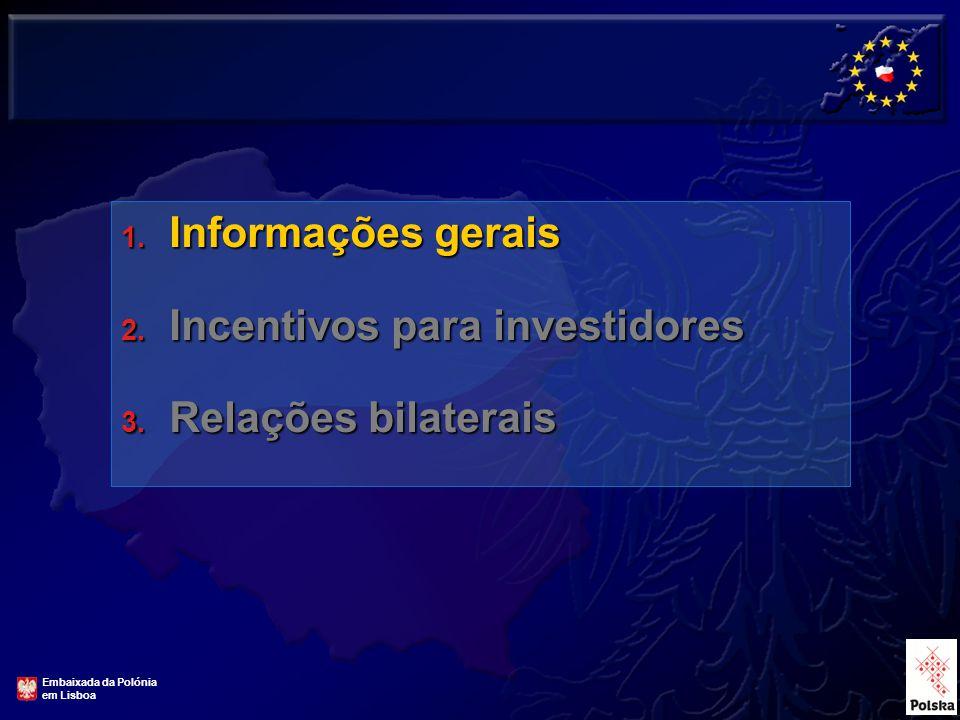 1. Informações gerais 2. Incentivos para investidores 3.