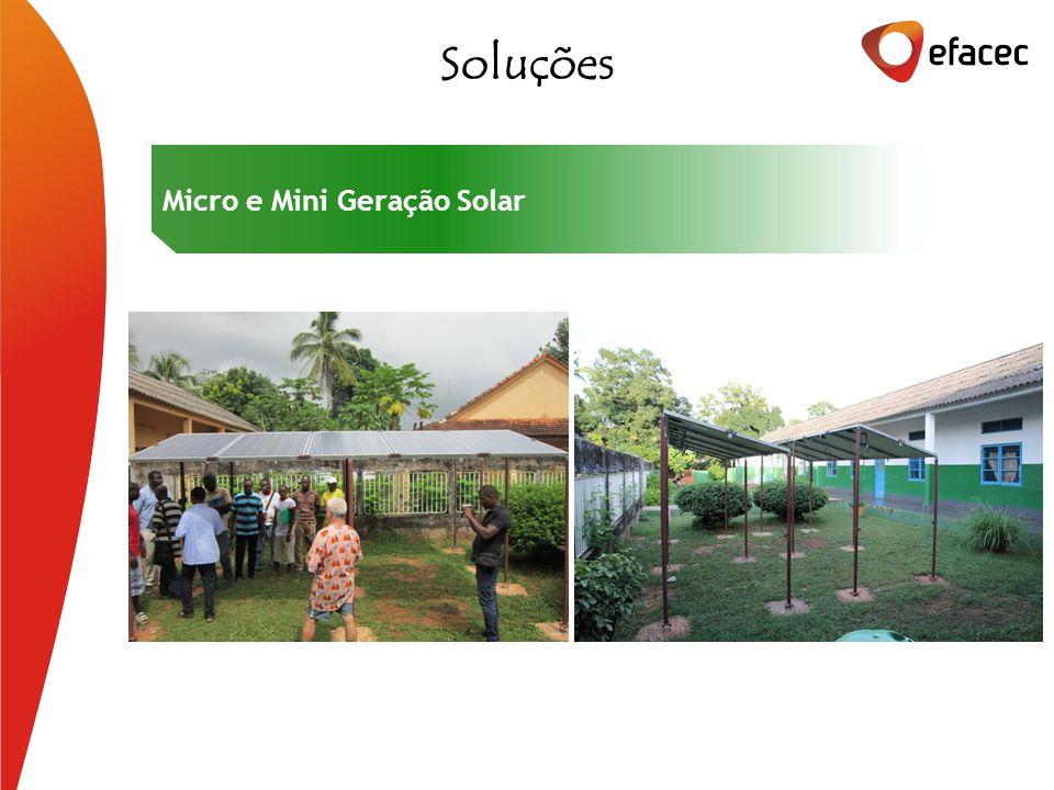 Soluções Micro e Mini Geração Solar