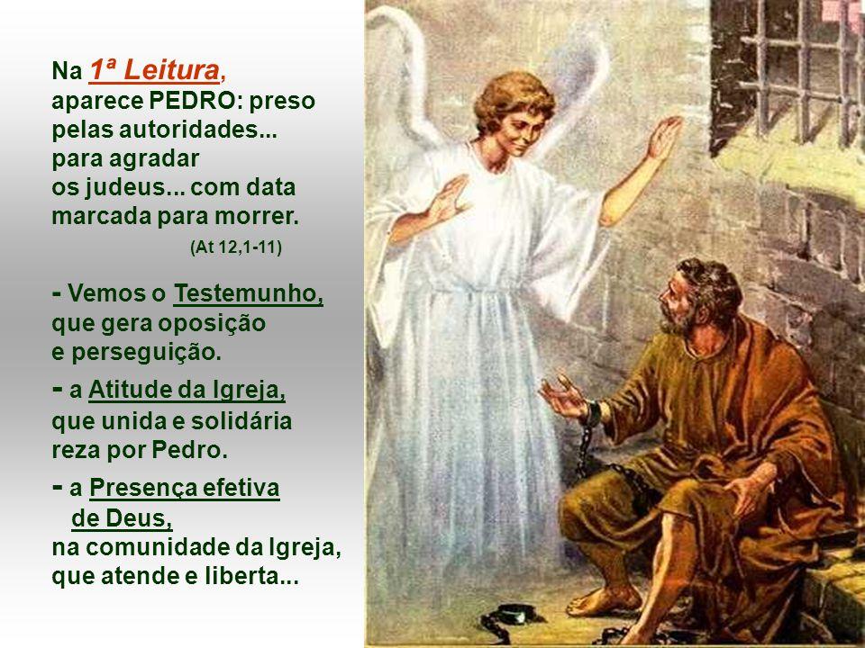 PEDRO, DISCÍPULO de Jesus, escolhido por ele como o primeiro Papa e PAULO, o primeiro MISSIONÁRIO, que levou a Igreja ao mundo.