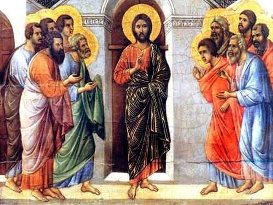 - Jesus lhes deseja a paz ( Shalon ).