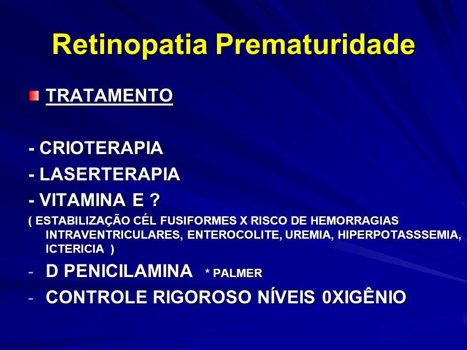 TRATAMENTO - CRIOTERAPIA - LASERTERAPIA - VITAMINA E .