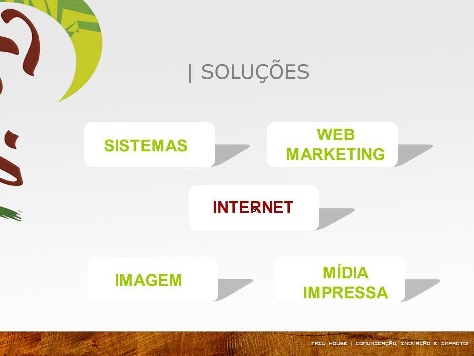 | SOLUÇÕES WEB MARKETING IMAGEM MÍDIA IMPRESSA s SISTEMAS INTERNET