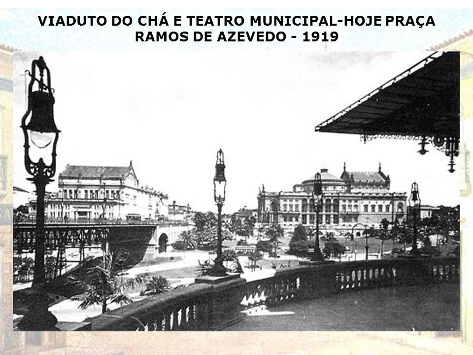 LARGO SÃO FRANCISCO – HOJE FACULDADE DE SÃO FRANCISCO-1918 (Escola de Comércio Álvares Penteado)