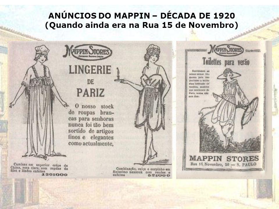 A DÉCADA DE 1920