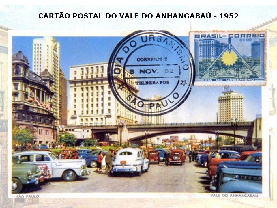 VALE DO ANHANGABAÚ A DIREITA HOJE PREFEITURA DE SÃO PAULO- 1951