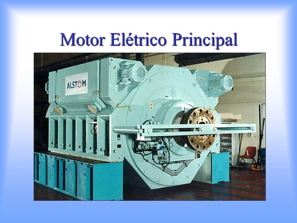 Características: 2 Motores de indução (assíncronos) de 20 MW Corrente Alternada, 6 pares de pólos, 15 fases Torque máximo: 1.061 MNm Rotação máxima: 180 rpm