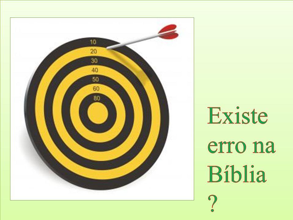Depende de como encaramos a Bíblia.