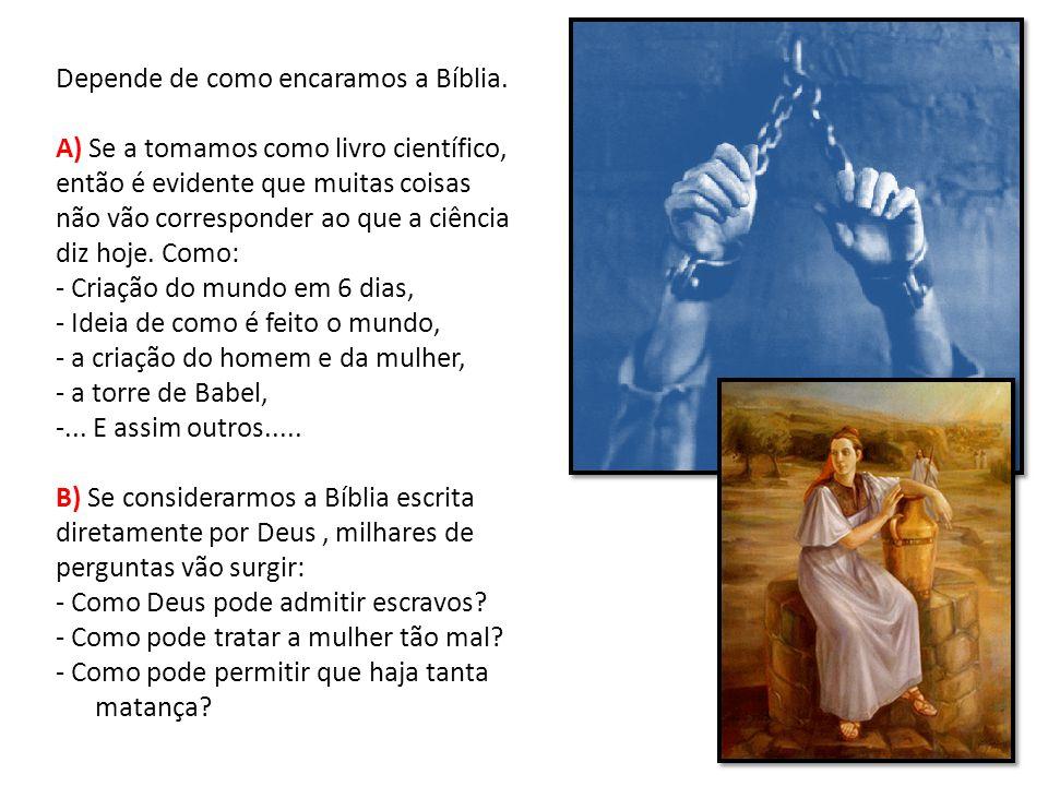 Antes de responder se a Bíblia tem erros, é preciso ter presente duas coisas: 1º - A Bíblia é Palavra de Deus na História de todas as pessoas.