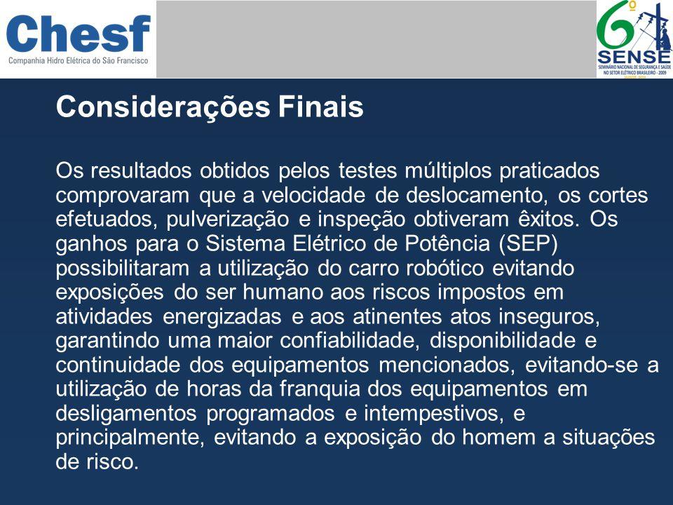 Obrigado DAVID DUARTE NUNES dnunes@chesf.gov.br EVANDRO SOARES DE MACEDO evandros@chesf.gov.br