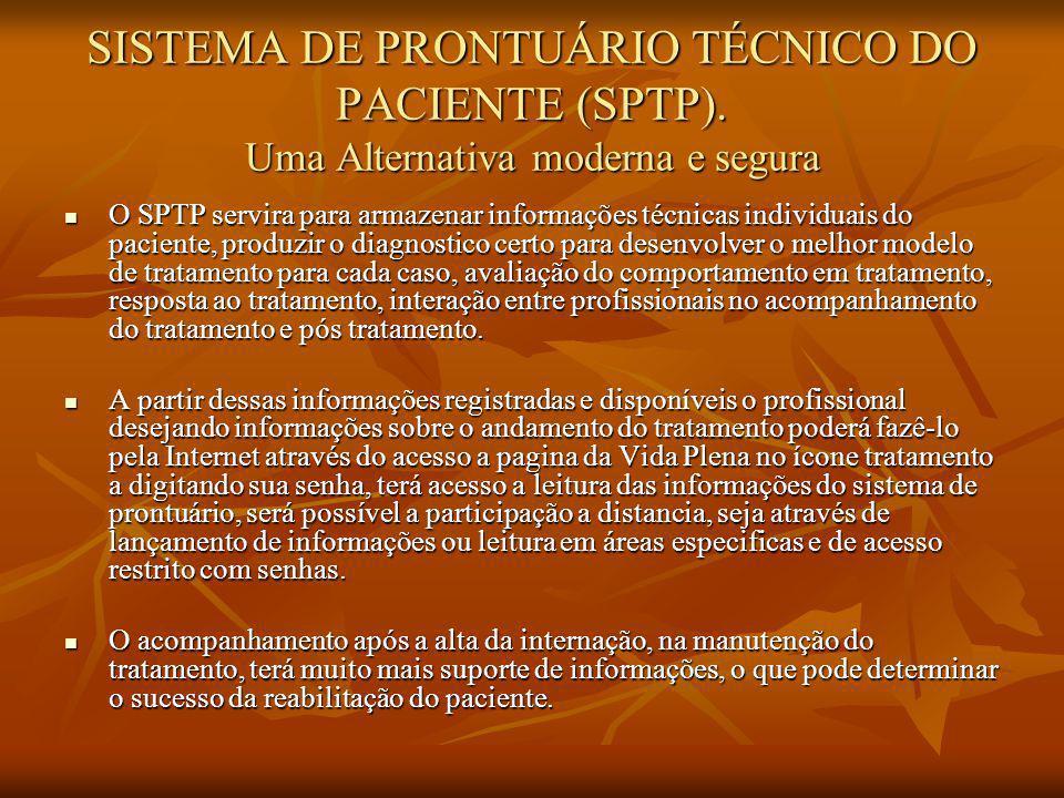 SISTEMA DE PRONTUÁRIO TÉCNICO DO PACIENTE (SPTP).