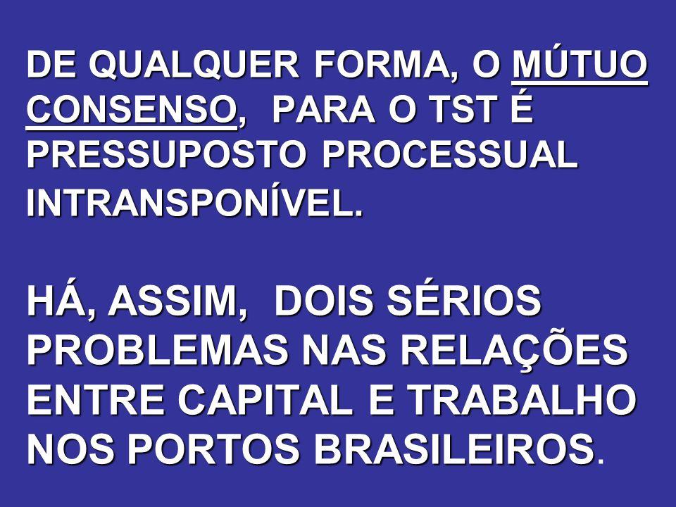 POSIÇÃO APROVADA NA PLENÁRIA NACIONAL DAS FEDERAÇÕES E SINDICATOS PORTUÁRIOS, REALIZADA EM 6 E 7 DE NOVEMBRO, EM BRASÍLIA COMPOSIÇÃO DO OGMO: TRIPARTITE PARITÁRIA LOCAL 1 - ORGÃOS DO GOVERNO FEDERAL QUE ATUAM NO SETOR PORTUÁRIOS 2 - REPRESENTAÇÕES EMPRESARIAIS 3 - REPRESETANÇÕES DO SIDICATOS DE TRABALHADORES PORTUÁRIOS